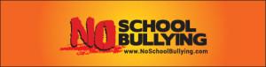 No School Bullying Bookmark